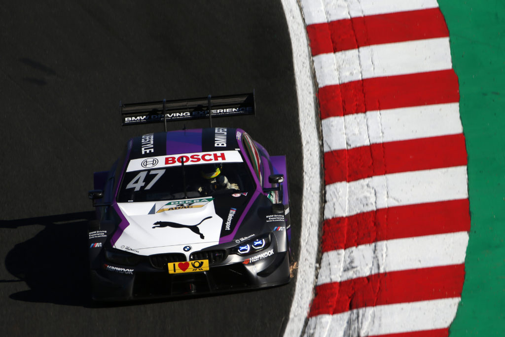 The DTM's newest winner back on track