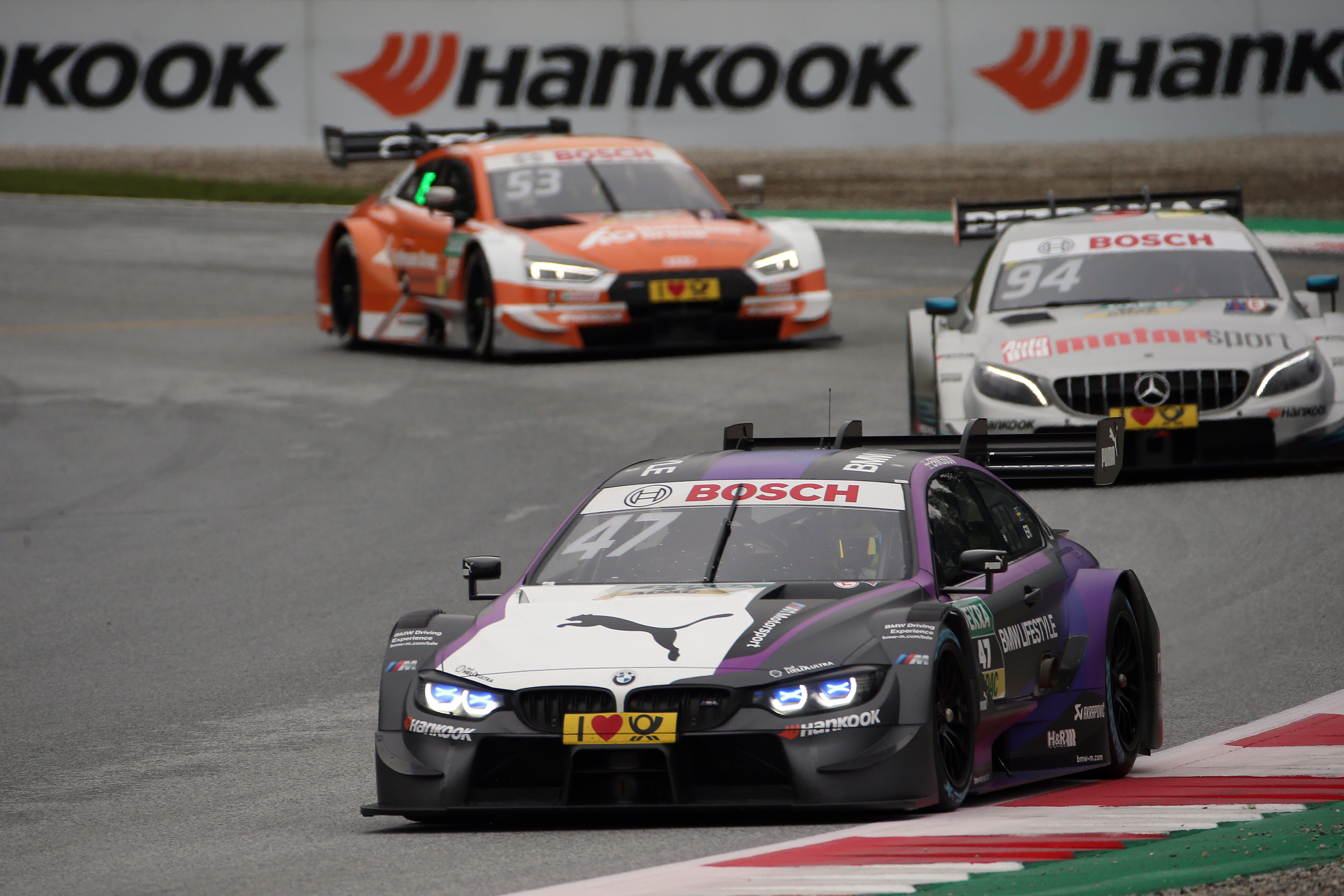 Joel Eriksson leads BMW Spielberg charge