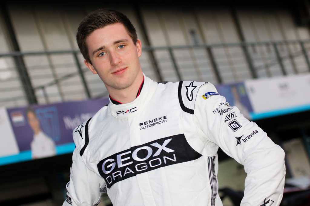 Joel Eriksson all set for Formula E rookie test